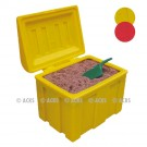 Bac à sable ou à absorbant polyéthylène avec couvercle