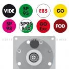 """Signalisateur ROLLINDEX Standard TOTAL 2010 """"Platinum"""""""