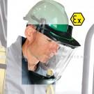 Visière complète en propionate incolore – 0 ATEX