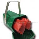 Boitier de stockage pour gants manches courtes - Polyéthylène vert