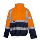 Blouson COSI Multirisques HV Orange Fr-as, protection chimie et pluie répondant aux Normes ATEX