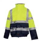 Blouson COSI Multirisques HV Jaune Fr-as, protection chimie et pluie répondant aux Normes ATEX
