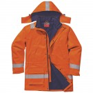 Parka GLACIALE Matelassée Multirisque Fr-as, protection soudeur/ froid conforme à la norme ATEX