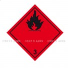 Symbole de danger 250 x 250 N° 3 – Noir