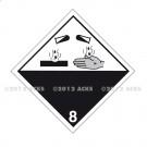 Symbole de danger 250 x 250 N° 8