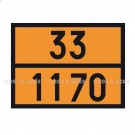 Panneau 33/1170 orange 300 x 400