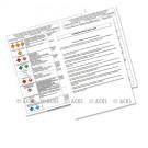Consignes de sécurité nouvelle norme - 4 pages - Papier indéchirable