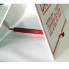 Barrette PVC pour chevalet