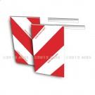 Fanion hayon Kit Droite/Gauche 250 x 410 - PVC souple – Norme TPESC - Classe B