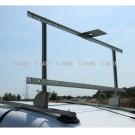 Kit barre de toit nu magnétique pour voiture pilote escomotable